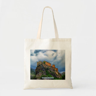 Citadelle de Corte, Korsika, Frankreich Budget Stoffbeutel