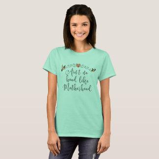 Citation drôle de maternité t-shirt