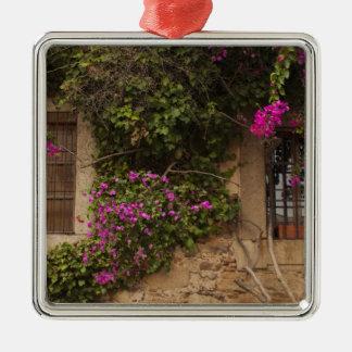 Ciudad monumental, Blume-bedeckte Gebäude 2 Silbernes Ornament