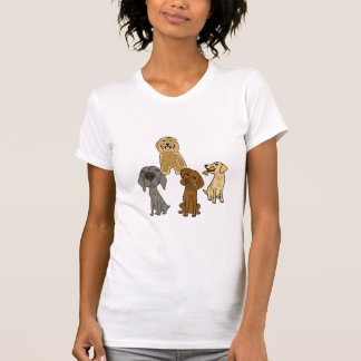 CJ-, verfolgt Cartoon Shirt