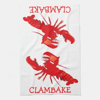 Clambake Küchentuch