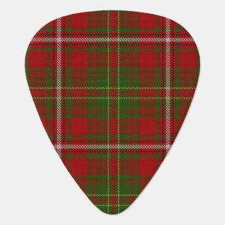 Clan heuen Töne von SchottlandTartan Plektrum