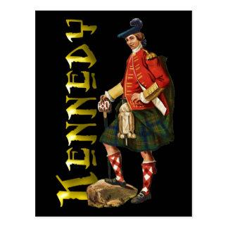 Clan-Kennedy-Hochland-Traum Postkarte