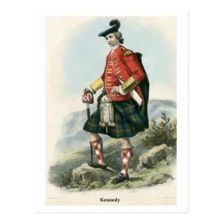 Clan Kennedy Postkarte