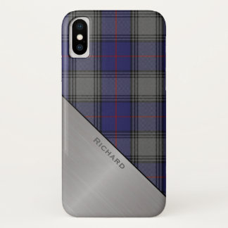 Clan Kinnaird Tartan karierter iPhone X Fall iPhone X Hülle