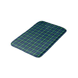 Clan Lamont hellgrünes und blaues schottisches Badematte