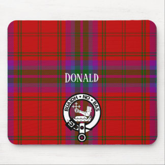 Clan MacDougall Tartan und Wappen Mauspad