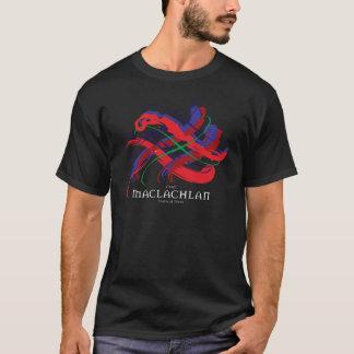 Clan MacLaughlin Tartan-Dunkelheits-T - Shirt