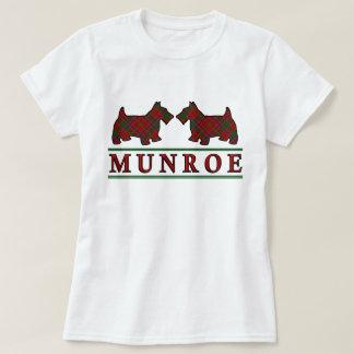 Clan Munroe Munro Tartanscottie-Hunde T-Shirt