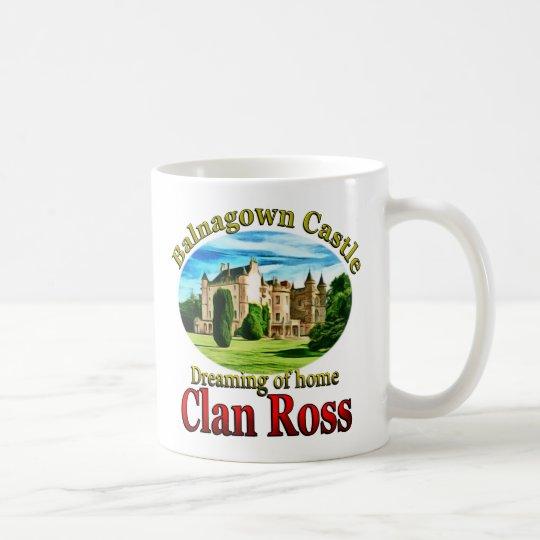 Clan Ross, der von Balnagown Schloss träumt Kaffeetasse
