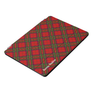 Clan-StewartTartan u. mit Monogramm Name iPad Pro Cover