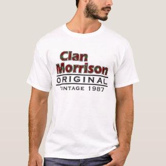 Clan Vintager Morrison fertigen Ihr Birthyear T-Shirt