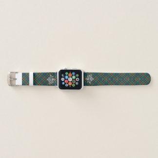 ClanAllisonTartan u. schottische Distel #2 Apple Watch Armband