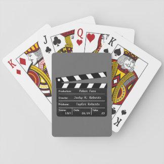 Clapperboard für Ihre Spielkarte-Szenen Spielkarten