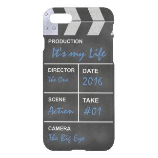 """Clapperboard Kino """"es ist mein Leben """" iPhone 8/7 Hülle"""