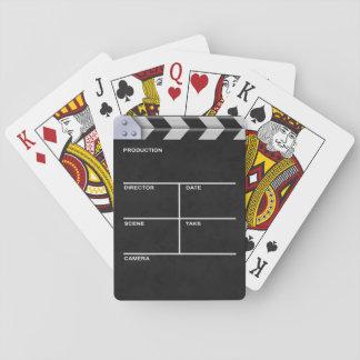 Clapperboard Kino Spielkarten
