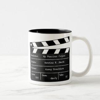Clapperboard Tasse für Ihre Kaffee-Szenen