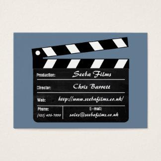 Clapperboard Visitenkarte