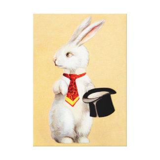 Clapsaddle : Lapin de Pâques avec la cravate Toile Tendue
