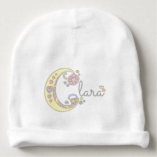 Clara oder Ihr eigener c-NamensBaby Beanie Babymütze