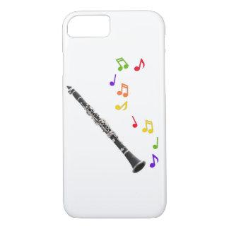 Clarinet-bunte Musik iPhone 7 Hülle