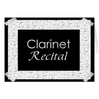Clarinet-Erwägungsgrund Karte