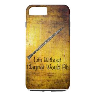 Clarinet-Musiker-Telefon-Abdeckung iPhone 8 Plus/7 Plus Hülle