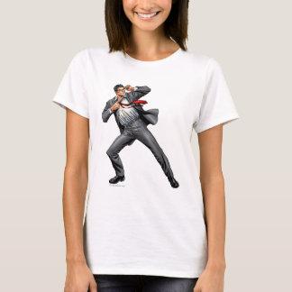 Clark change en Superman T-shirt
