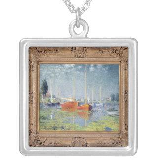 Claude Monet | Argenteuil, 1875 Versilberte Kette