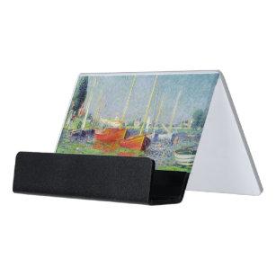 Claude Monet   Argenteuil, c.1872-5 Schreibtisch-Visitenkartenhalter