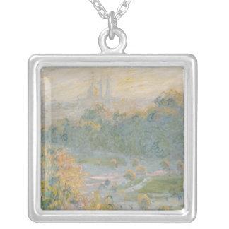 Claude Monet | das Tuileries 1875 Versilberte Kette
