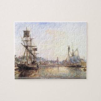 Claude Monet - der Honfleur Seehafen