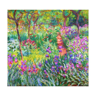 Claude Monet: Der Iris-Garten bei Giverny Galerie Gefaltete Leinwand