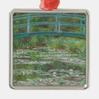 Claude Monet   der japanische Steg, 1899 Silbernes Ornament