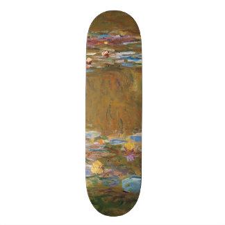 Claude Monet der Wasser-Lilien-Teich GalleryHD 18,4 Cm Mini Skateboard Deck