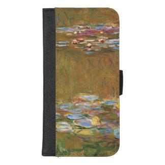 Claude Monet der Wasser-Lilien-Teich GalleryHD iPhone 8/7 Plus Geldbeutel-Hülle