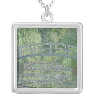 Claude Monet | der Wasserlilie-Teich: Grüne Versilberte Kette