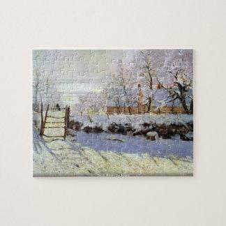 Claude Monet - die Elster