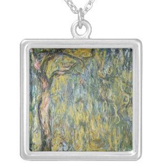 Claude Monet | die große Weide bei Giverny, 1918 Versilberte Kette