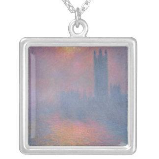 Claude Monet | die Häuser des Parlaments, London Versilberte Kette