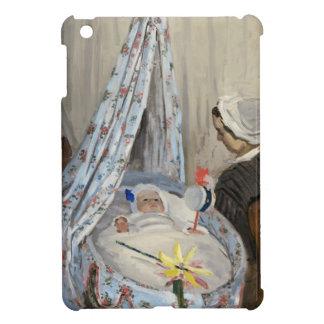 Claude Monet | die Wiege, Camille mit Sohn Jean iPad Mini Hülle