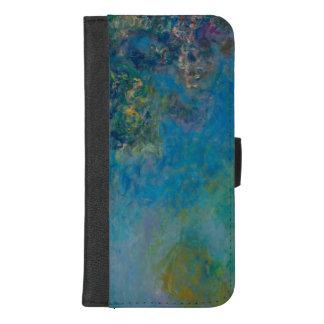 Claude Monet-Glyzinie-schöne Kunst BlumenGalleryHD iPhone 8/7 Plus Geldbeutel-Hülle
