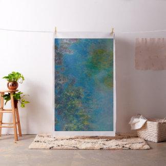 Claude Monet-Glyzinie-schöne Kunst BlumenGalleryHD Stoff