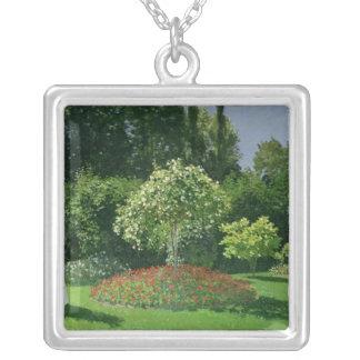 Claude Monet | Jeanne Marie Lecadre im Garten Versilberte Kette