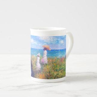 Claude Monet: Klippen-Weg bei Pourville Prozellantasse