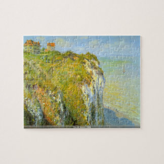 Claude Monet - Klippenpuzzlespiel
