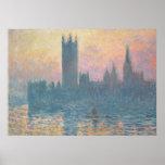Claude Monet | les Chambres du Parlement, coucher