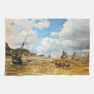 Claude Monet-Mund der Seines Handtuch