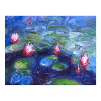 Claude Monet : Nénuphars 2 Carte Postale