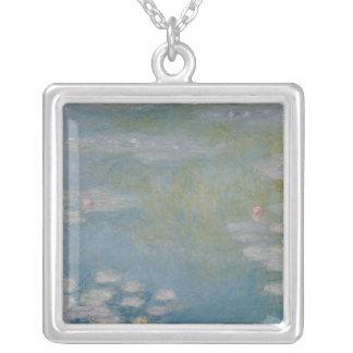 Claude Monet | Nympheas bei Giverny, 1908 Versilberte Kette